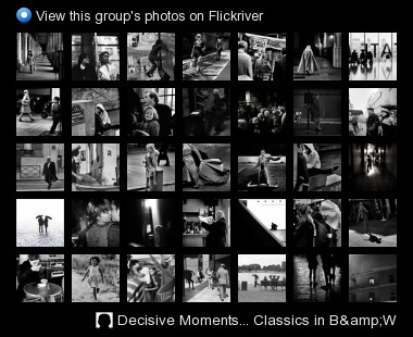 Decisive Moments... Classics in B&W - View this group's photos on Flickriver