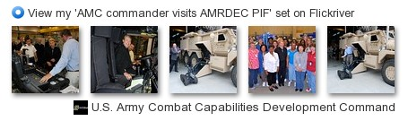 RDECOM - View my 'AMC commander visits AMRDEC PIF' set on Flickriver