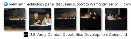 RDECOM - View my 'Panel discusses support to Warfighter' set on Flickriver