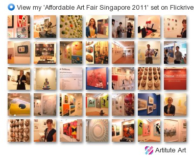 Artitute Art - View my 'Affordable Art Fair Singapore 2011' set on Flickriver