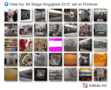 Artitute Art - View my 'Art Stage Singapore 2012' set on Flickriver