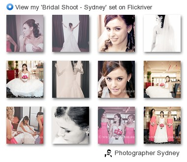Photographer Sydney - View my 'Bridal Shoot - Sydney' set